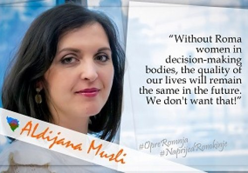 Without Roma women in decision-making bodies, the quality of our lives will remain the same…