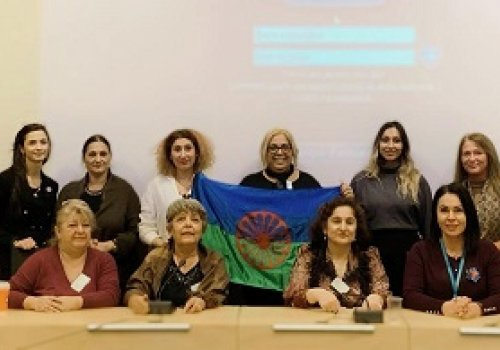 The meeting of the international Roma women activists at the high level